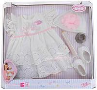 Комплект одежды крестильный набор для куклы Baby Annabell Zapf Creation 792049