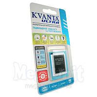 Усиленный аккумулятор KVANTA. Sony-Ericsson BST-37 (K750) 1000мАч, фото 1