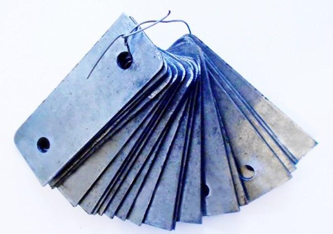 Пластины на нож (ротор молотковый) для Эликор 1 Исп.3