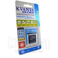 Усиленный аккумулятор KVANTA. Sony-Ericsson BST-38 (K770) 1000мАч, фото 1