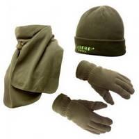 FLAGMAN Шапка флисовая + шарф + рукавицы S/M (thinsulate 40g)
