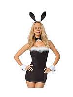 Ролевой костюм зайчика для девушки Born to Serve Bunny Costume 2054
