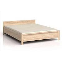 Кровать Каспиан 140 (каркас) сонома, фото 1