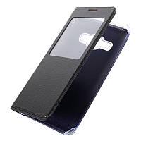 Чехол Samsung J120 / J1 2016 книжка с окном черный
