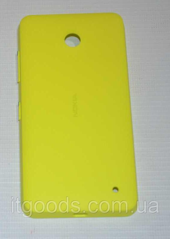 Задняя желтая крышка для Nokia Lumia 630   635   636   638