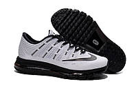 Кроссовки Nike Air Max 2016 Flyknit Black and White Mens, фото 1
