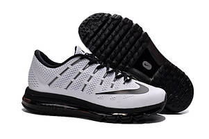 Кроссовки Nike Air Max 2016 Flyknit Black and White Mens