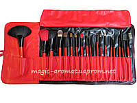 Набор натуральных VIP кистей Salon Professional ™(USA) 18 шт., фото 1