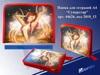 """Папка на молнии """"JO"""" А5 №2010-13 """"Девушка"""""""