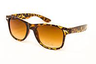 Солнцезащитные очки wayfarer леопардовые