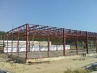 Строительство каркасних зданий, склади, МАФ, ангари