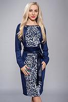 Трикотажное женское платье Ангелина от производителя.Размеры 48-52