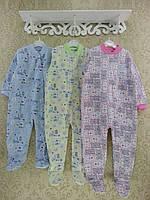 Пижамы для новорожденных в Украине.Человечек-слип на байке. Цвета и модели как на фото. Рост 86,92,98 см.