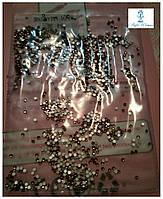 Алмазная крошка, пиксели для дизайна ногтей, кристаллы 1440шт., стразы S4