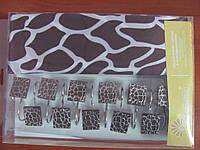 Шторка для ванной Arya Alberta 180х180 коричневая