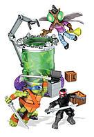 Конструктор Mega Bloks Teenage Mutant Ninja Turtles. Лаборатория мутаций.