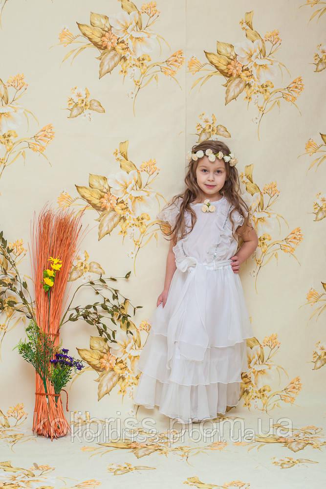 Карнавальный костюм нежная весна, нимфа, флора  прокат