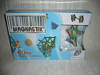 Магнитный 3D конструктор Magnastix 60 деталей
