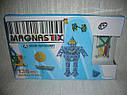 Магнитный 3D конструктор Magnastix 136 деталей, фото 2