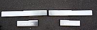 Накладки на пороги Chevrolet Captiva 2006- 4шт. premium