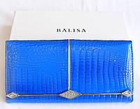 Кошелек женский кожаный лакированный  Balisa