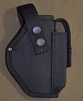 Поясная (ременная) кобура для Форт 17, черная. НОВАЯ.