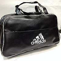 Мужская дорожная сумка Adidas из гладкого кожзаменителя   оптом