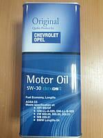 Масло моторное синтетическое General Motors Dexos 2 Longlife 5W-30 5л - производства Германии