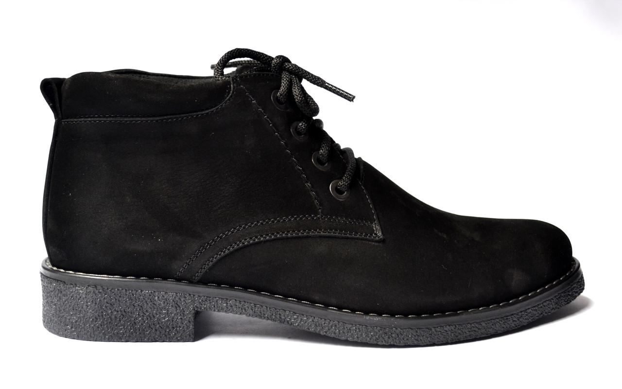 3aa695f5f Замшевые зимние мужские ботинки Rosso Avangard. Carlo Bonmarito Vel черные