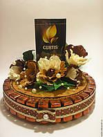 Корпоративные подарки торт 75