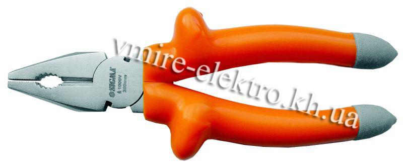 Плоскогубці діелектричні 1000в 160 мм Sigma
