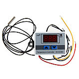 Терморегулятор в корпусе с датчиком (-50+110С) 12V/ 220V, фото 4