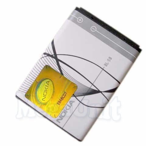 Аккумулятор Nokia BL-5B (3220, 3230, 5140, 5500, 6020)