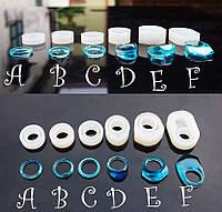 Молд силиконовый для кольца Elements Элементы (модель E) размер 17