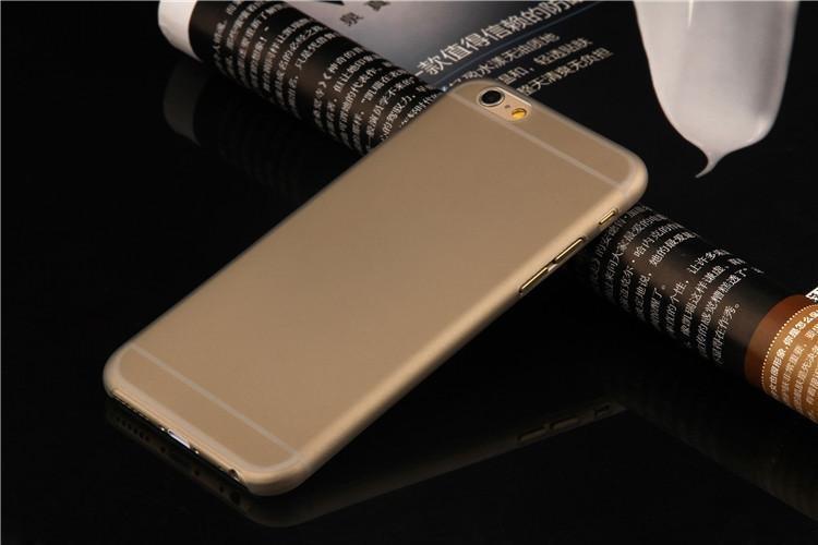 Пластиковый чехол для iPhone 7 - Soft Touch Plastic Case Gray
