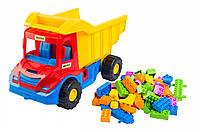 Игрушечный набор Wader Multi truck грузовик с конструктором (39221)