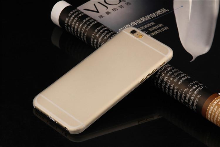 Пластиковый чехол для iPhone 7 - Soft Touch Plastic Case White