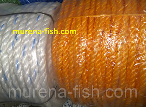 Веревка полипропиленовая 3 мм Мармара ( канат, шпагат, тросс Marmara 200м), фото 2