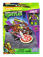 Конструктор Mega Bloks Teenage Mutant Ninja Turtles. Пицца-карт Донателло.