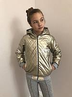Кожанные куртки для девочек 341