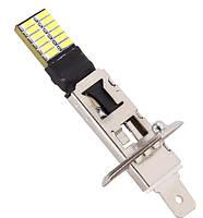 Светодиодная лампа  H1 24 СМД  12 В 6500 К H1 24SMD LED Bulb Lamp Auto car 3Вт