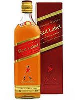 Виски Бленд Шотландия Джони Уокер Ред Лейбл 1л Johnnie Walker Red Label