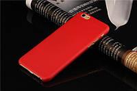 Пластиковый красный чехол для iPhone 7
