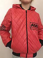 Кожанные куртки с накатами 341