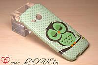 "Чехол HTC One M8 Mini ""Сова"""