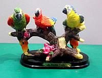 Сувенир  Попугаи на ветке