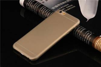 Чехол для iPhone 7 - Soft Touch Plastic Case Gray