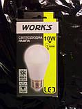 Лампа LED 10 Вт Works LB1040-E27-A60 , фото 2