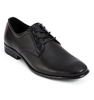 Классические кожаные мужские туфли Bastion 060