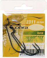 Крючки офсетные Cobra Force 2311NSB #6 (2311NSB-006)
